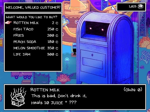Omori Game Guide Rotten Milk This Is Bad Do Not Drink It