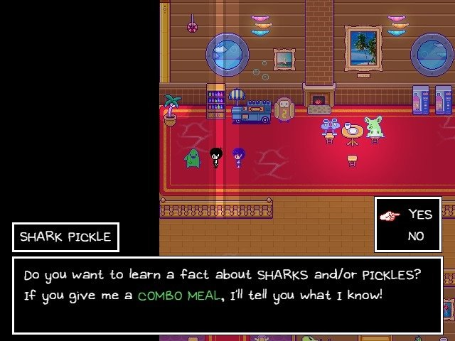 Omori Game Guide Shark Pickle If You Give Me A Combo Deal