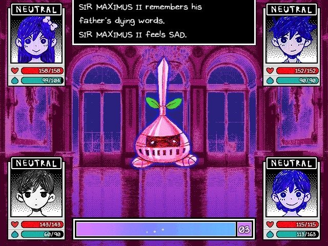 Omori Game Guide Sir Maximus II Remember His Father Dying Words