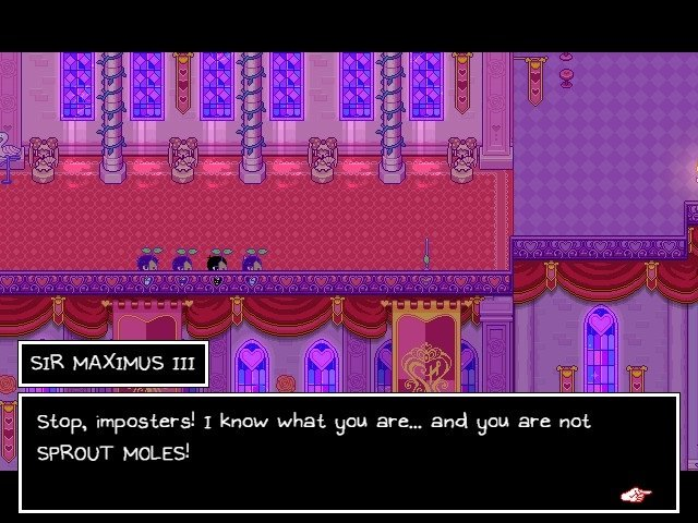 Omori Game Guide Sir Maximus II Stop Imposters You Are Not Sprout Moles