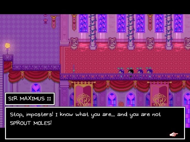 Omori Game Guide Sir Maximus II Stop Imposters