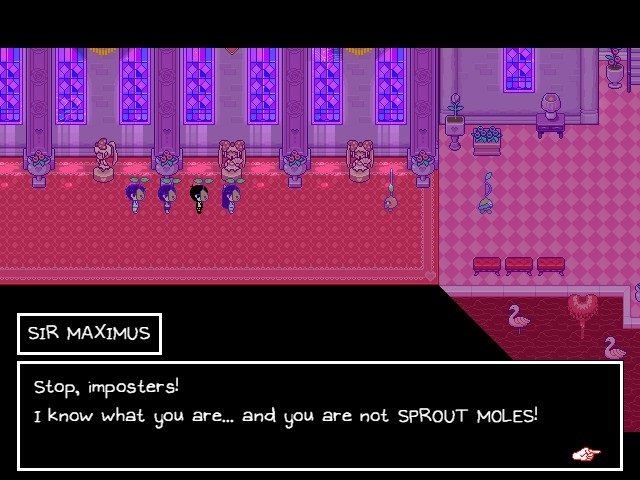 Omori Game Guide Sir Maximus Stop Imposters