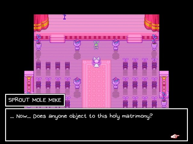 Omori Game Guide Sprout Mole Mike Does Anyone Object To This Holy Matrimony