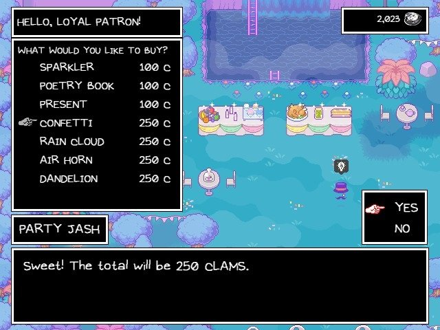 Omori Game Guide Sweet The Total Will Be 250 Clams