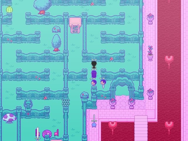 Omori Game Guide Sweethearts Garden Looking For Password