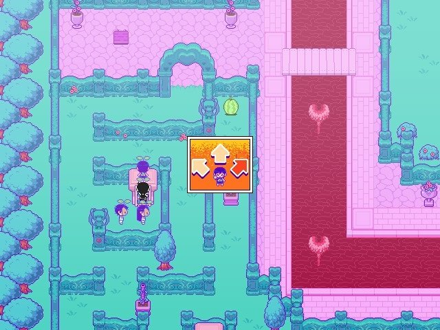 Omori Game Guide Sweethearts Garden Need To Select A Direction
