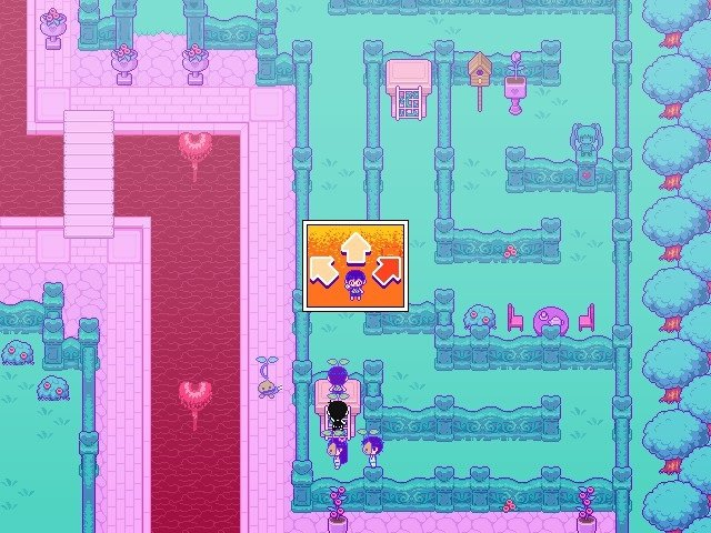 Omori Game Guide Sweethearts Right Hedge Maze