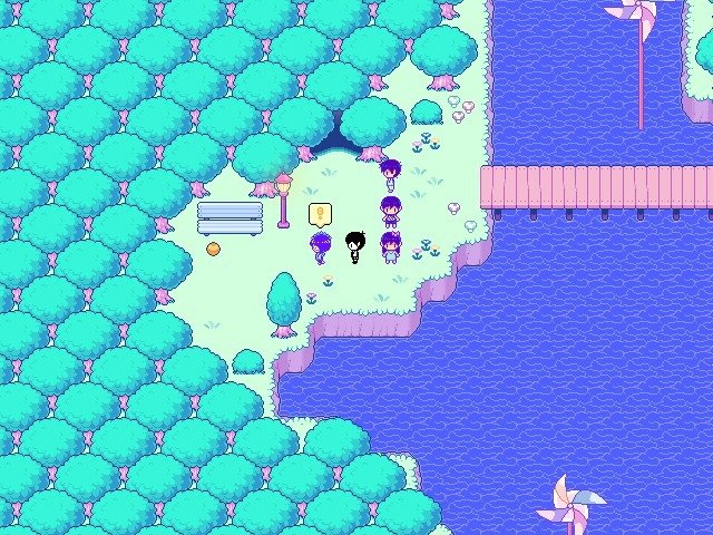 Omori Game Guide Vast Forest Go West Looking For The Ball