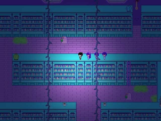 Omori Game Guide - Walk up to the green watermelon