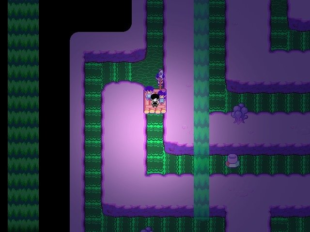Omori Game Guide - Waterfall puzzle first go left