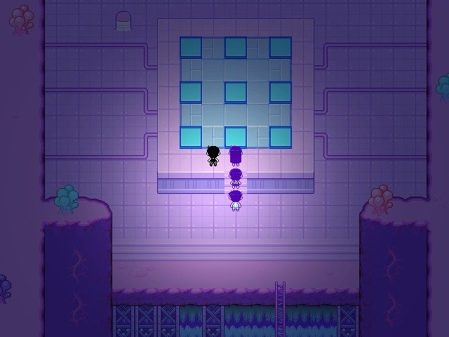 Omori Game Walkthrough Guide Blue Puzzle With Nine Squares