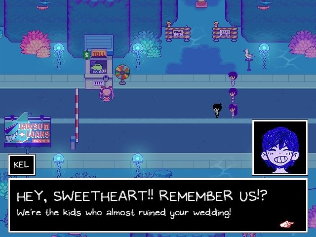Omori Game Walkthrough Guide Kel Sweetheart We Were The Kinds Who Almost Ruined Your Wedding