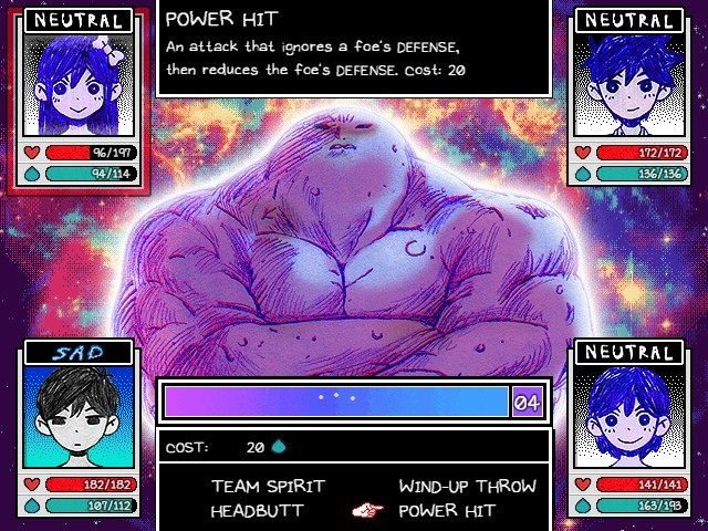 Omori Game Walkthrough Guide Pluto Battle Power Hit