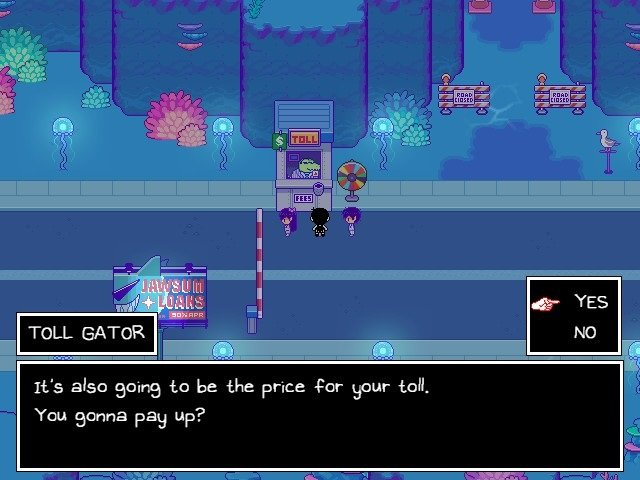 Omori Game Walkthrough Guide Toll Gator It Is Also Going To Be The Price For Your Toll