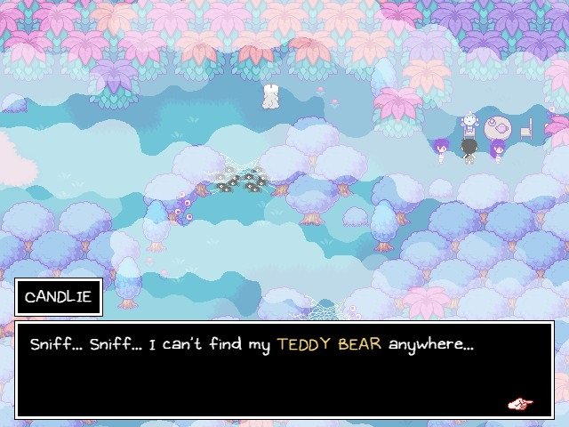Omori Game Wiki Pyrefly Forest Can Not Find Teddy Bear