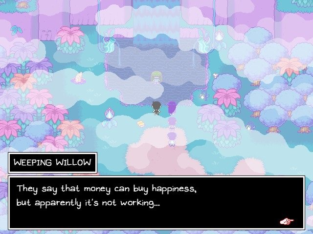 Omori Game Wiki Weeping Willow Money Can Buy Happiness