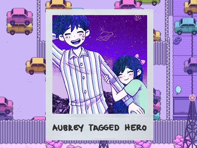 Omori Video Game Aubrey Tagged Hero