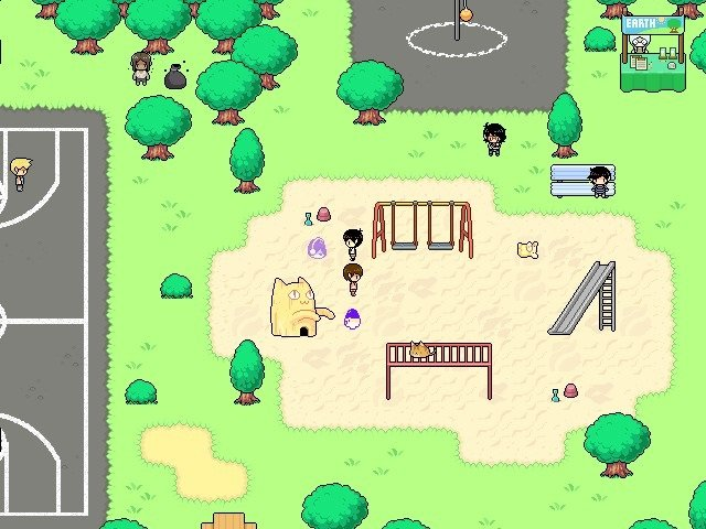 Omori Video Game Faraway Park Playing 012