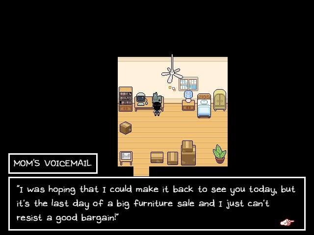 Omori Video Game Mom Voicemail Good Bargain 010