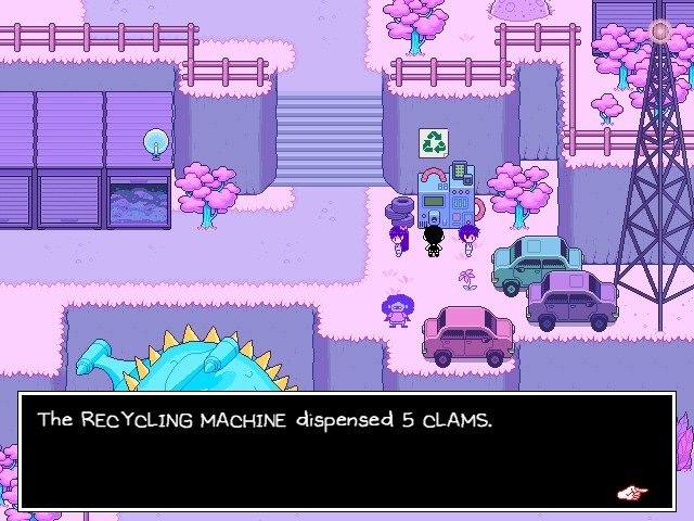 Omori Video Game Recycling Machine Dispensed 5 Clams