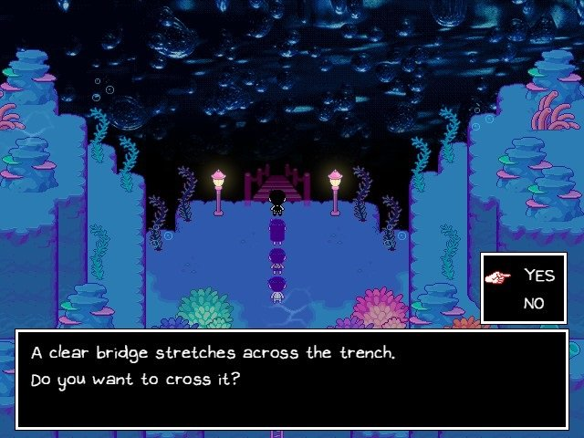 Omori Walkthrough Gameplay Guide A Clear Bridge Stretches Across The Trench Want To Cross It