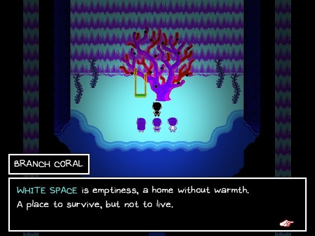 Omori Walkthrough Gameplay Guide Branch Coral White Space Is Emptiness A Home Without Warmth