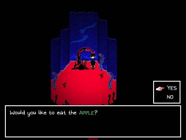 Omori Walkthrough Gameplay Guide - Would You Like To Eat The Apple