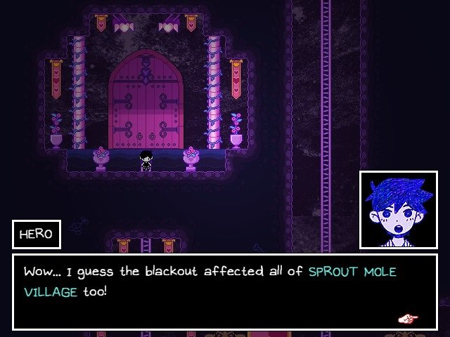 Omori Walkthrough Gameplay Hero Blackout Affected All Of Sprout Mole Village