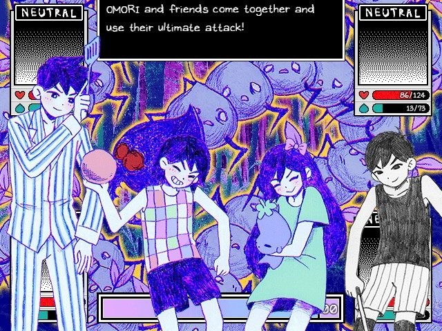 Omori Walkthrough Gameplay Omori And Friends Come Together And Use Their Ultimate Attack
