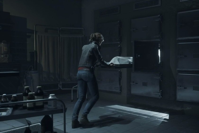 The Medium Gameplay In The Morgue