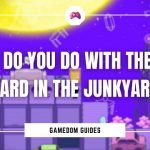 What Do You Do With The Joke Board In The Junkyard