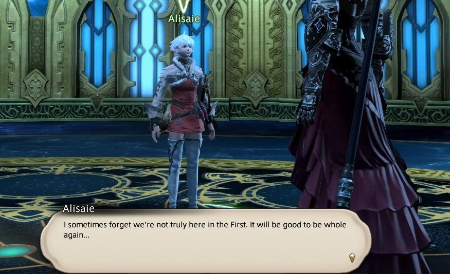 Final Fantasy XIV - Alisaie - I sometimes forget we are not truely here in the First