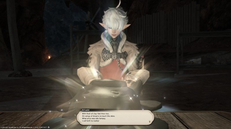 Final Fantasy XIV - Alisaie - With flesh of clay I bid thee rise