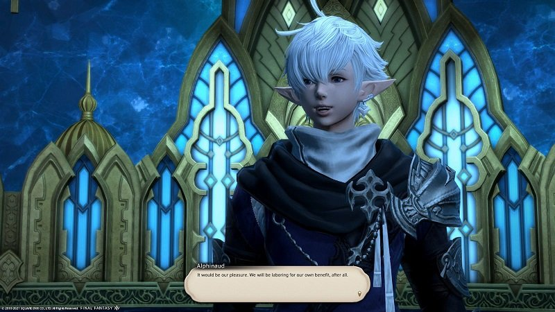 Final Fantasy XIV - Alphinaud - It would be our pleasure
