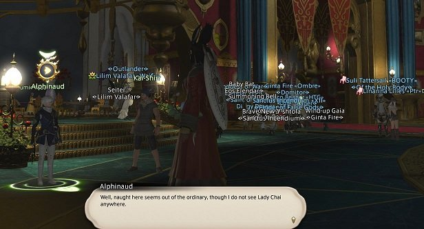 Final Fantasy XIV - Alphinaud - Well, naught here seems out of the ordinary