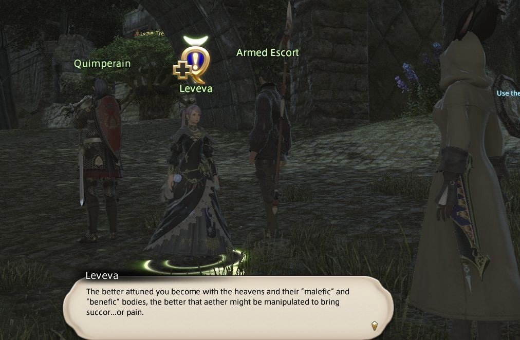 Final Fantasy XIV Fortune Favors The Bole - Leveva - The better attuned you become with heavens and their malefic
