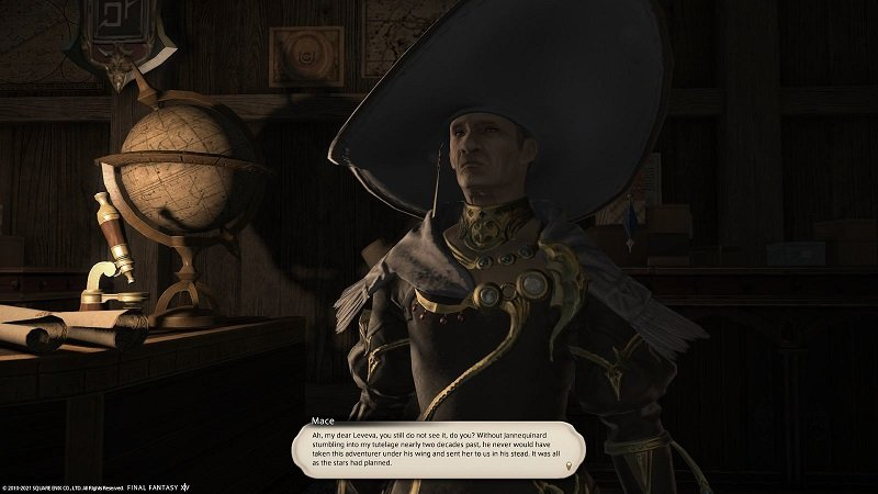 Final Fantasy XIV Fortune Favors The Bole - Mace - Ah my dear you still do not see it do you