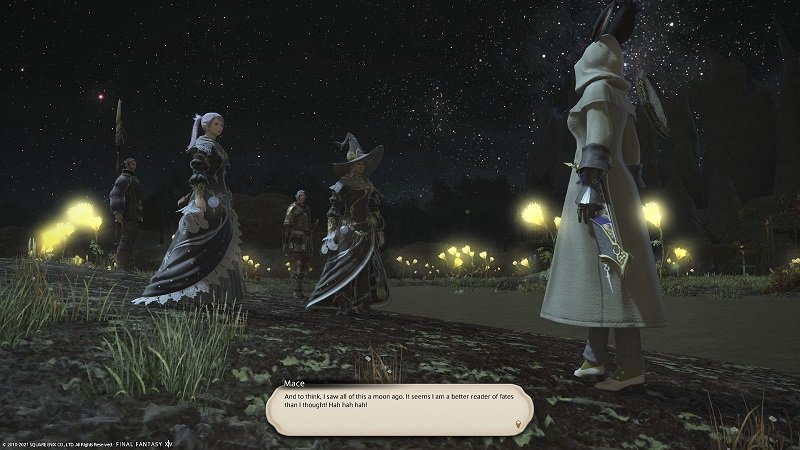 Final Fantasy XIV Fortune Favors The Bole - Mace - And to think I saw all of this a moon ago