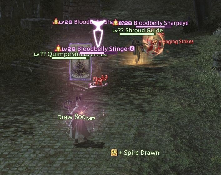 Final Fantasy XIV Fortune Favors The Bole - Spire Drawn