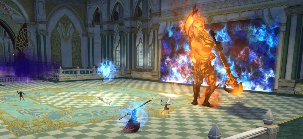 Final Fantasy XIV Game - Crystal Exarch - boss fight 2