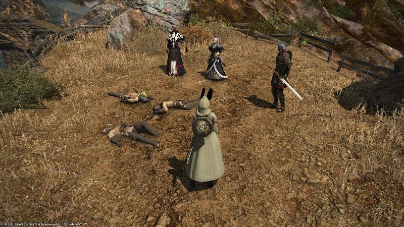 Final Fantasy XIV Hanging In The Balance - Dead bandits
