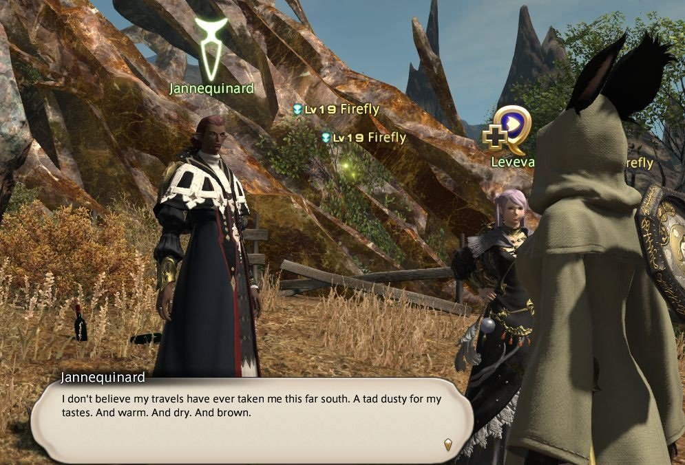 Final Fantasy XIV Hanging In The Balance - Jannequinard - I do not blieve my trave;s have ever taken me this far south