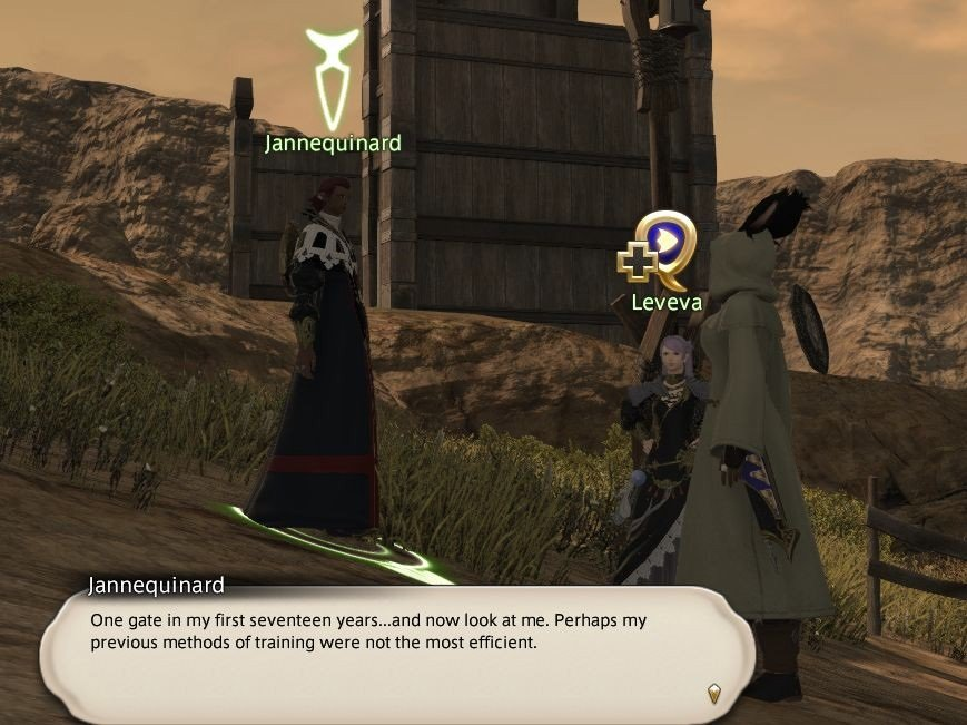 Final Fantasy XIV Hanging In The Balance - Jannequinard - One gate in my first seventeen years