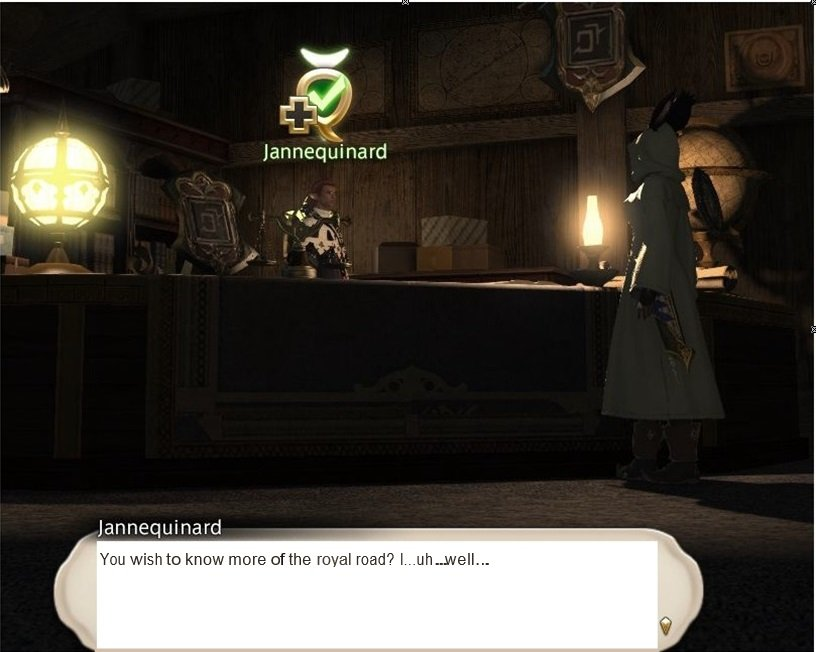 Final Fantasy XIV Hanging In The Balance - Jannequinard - You wish to know more of the royal road
