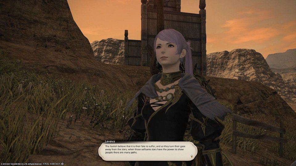 Final Fantasy XIV Hanging In The Balance - Leveva - This foolish believe that it is their fate to suffer