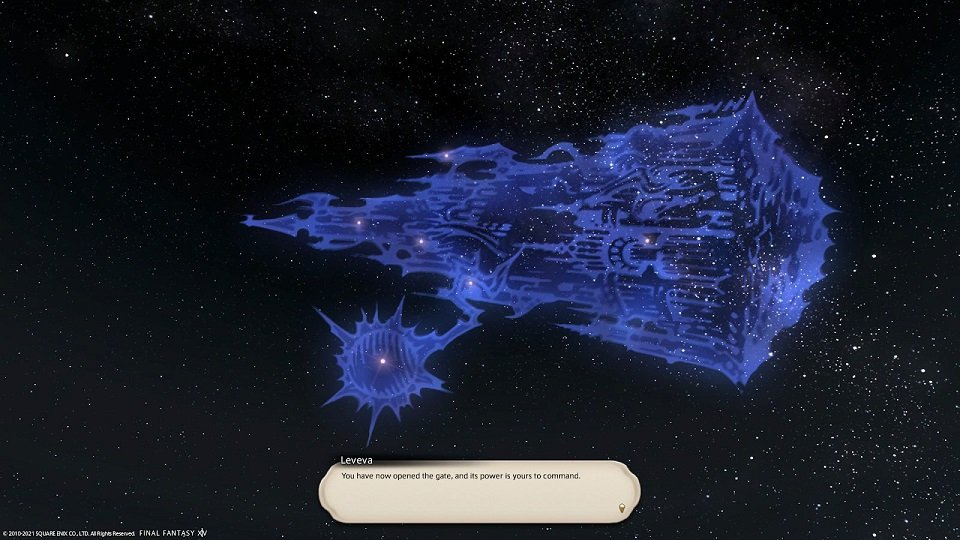 Final Fantasy XIV Hanging In The Balance - You have opened the gate and its power is yours to command