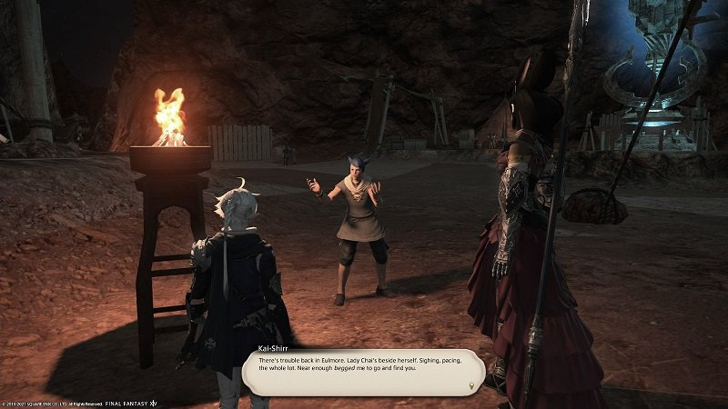 Final Fantasy XIV - Kai Shirr - There is trouble back in Eulmore