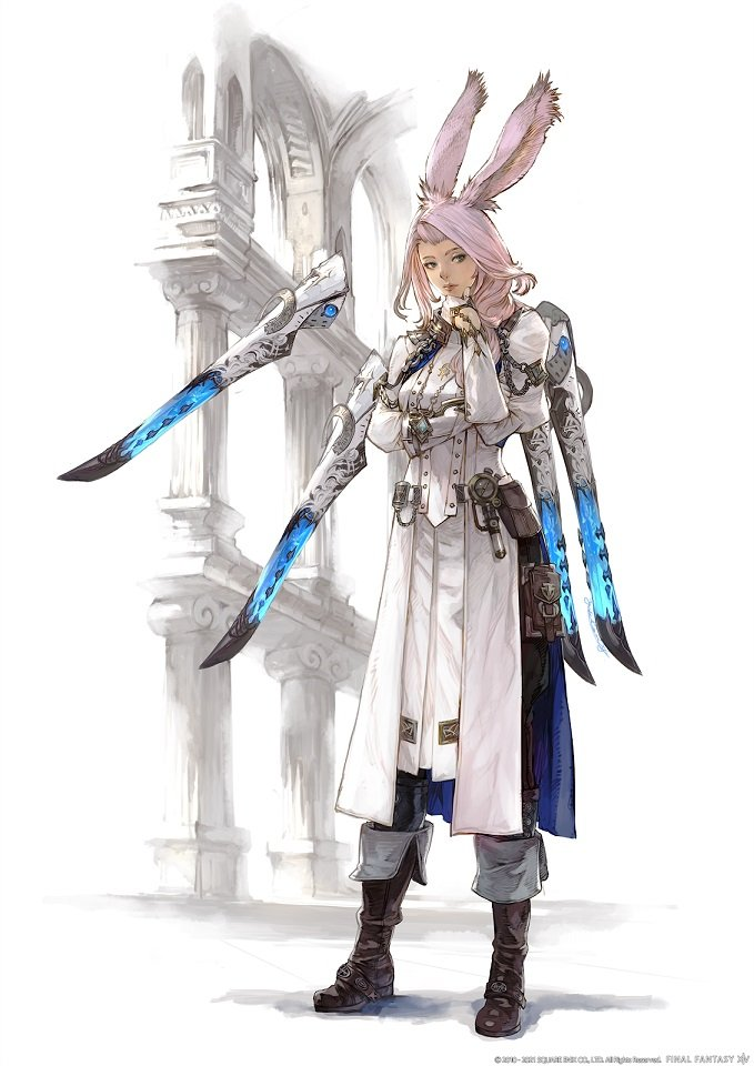 Final Fantasy XIV - The Sage Concept Art
