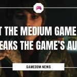Latest The Medium Game Patch Breaks The Game's Audio