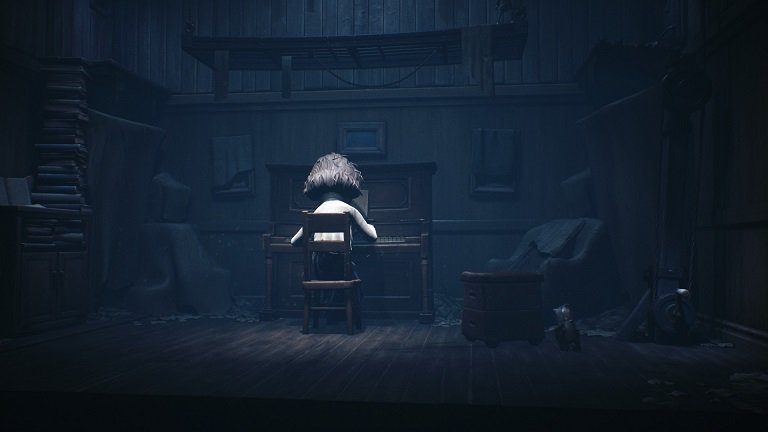 Little Nightmares 2 game guide - Bringing down the platfrom slowly